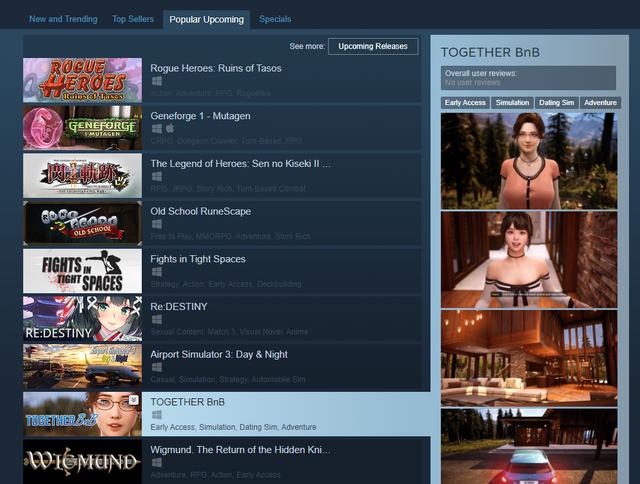 Game hẹn hò siêu hot sắp ra mắt trên Steam, hình ảnh đẹp như bom tấn AAA, bạn gái ảo nuột nà, xinh như mộng - Ảnh 1.