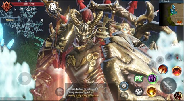 Ảnh chụp màn hình real 100% của Tứ Hoàng Mobile: Đồ họa 4K góc nhìn thứ 3, siêu phẩm đẹp xuất sắc - Ảnh 7.