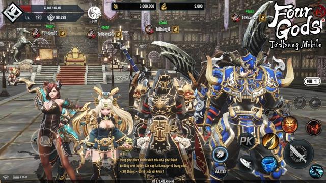 Ảnh chụp màn hình real 100% của Tứ Hoàng Mobile: Đồ họa 4K góc nhìn thứ 3, siêu phẩm đẹp xuất sắc - Ảnh 21.