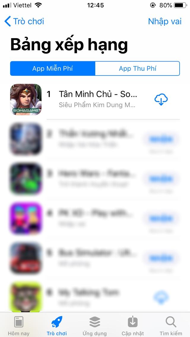 TOP 1 Chiến thuật, TOP 1 Nhập vai, TOP 1 All Game, TOP 3 Yêu thích: Tân Minh Chủ ra mắt 1 tuần rồi mà vẫn siêu cứng - Ảnh 5.