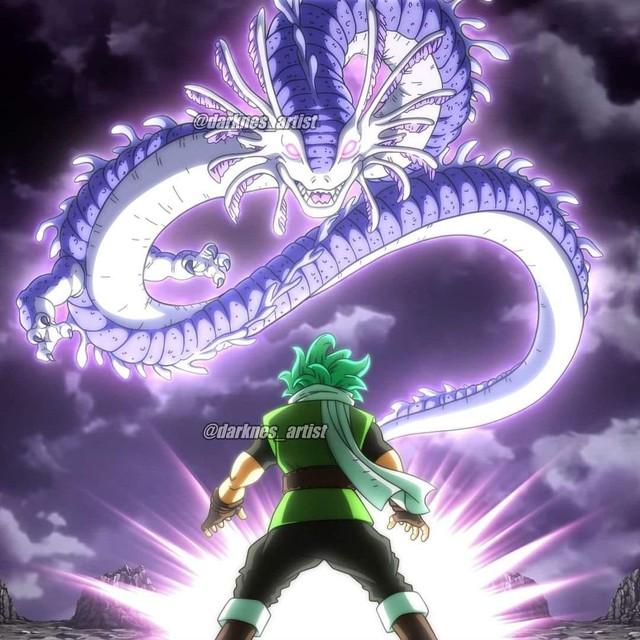 Dragon Ball Super: Ultimate Shenron mà Granola triệu hồi là rồng thần đã xuất hiện trong phần GT và bị fan ví giống con lươn - Ảnh 4.