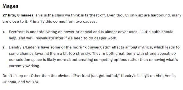 LMHT: Riot Games thừa nhận hệ thống item Thần Thoại của Pháp sư là sự thất bại lớn của mùa 11 - Ảnh 1.