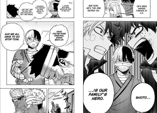 My Hero Academia: Bỏ qua mối bất hòa, Shoto và Endeavor sẽ hợp lực để đối phó với Dabi - Ảnh 2.