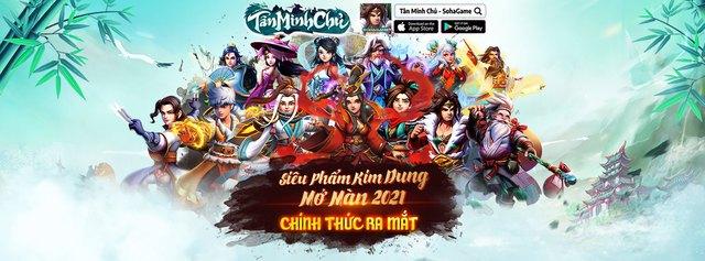 2000 Giftcode mừng Tân Minh Chủ - Siêu phẩm Kim Dung 2021 chính thức ra mắt, đăng nhập nhận ngay bộ ba Thiên Long - Ảnh 1.