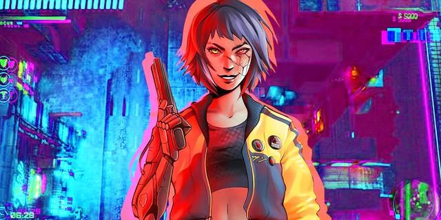 Xuất hiện tựa game kết hợp giữa Cyberpunk 2077 và GTA 2, cho phép game thủ thoải mái phá làng phá xóm - Ảnh 1.