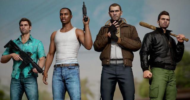 Bất ngờ với sự lột xác của các nhân vật huyền thoại trong GTA qua lớp áo đồ họa tiên tiến - Ảnh 1.