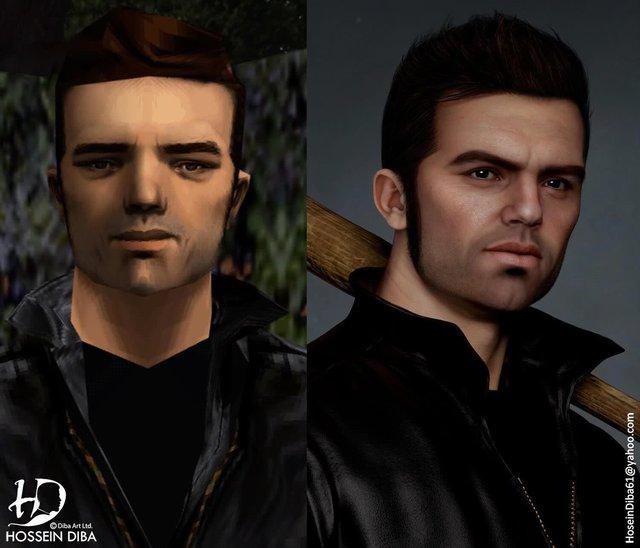 Bất ngờ với sự lột xác của các nhân vật huyền thoại trong GTA qua lớp áo đồ họa tiên tiến - Ảnh 2.
