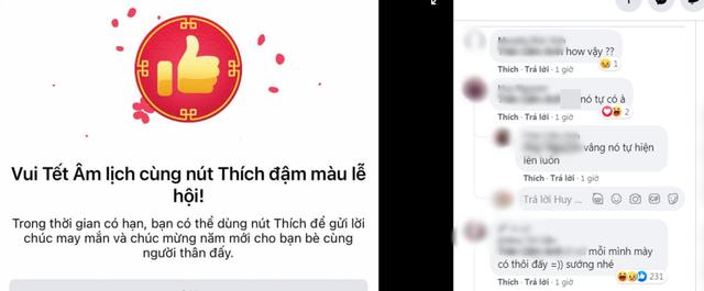 CĐM háo hức trước thông tin Facebook cập nhật nút Like đỏ đón Tết, thắc mắc sao bản thân chưa có - Ảnh 2.