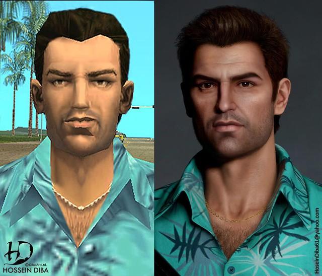 Bất ngờ với sự lột xác của các nhân vật huyền thoại trong GTA qua lớp áo đồ họa tiên tiến - Ảnh 3.