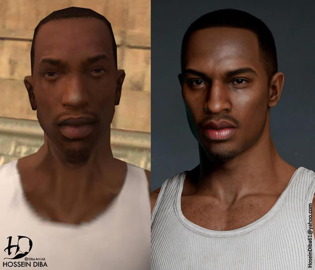 Bất ngờ với sự lột xác của các nhân vật huyền thoại trong GTA qua lớp áo đồ họa tiên tiến - Ảnh 4.