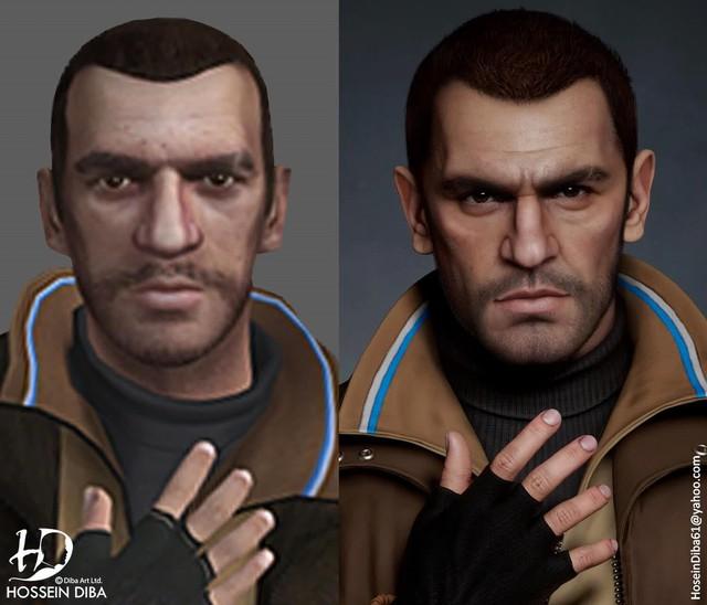 Bất ngờ với sự lột xác của các nhân vật huyền thoại trong GTA qua lớp áo đồ họa tiên tiến - Ảnh 5.