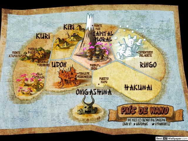 One Piece: Wano quốc được thiết kế dựa trên bộ não của con người, không hổ danh là Thánh Oda - Ảnh 1.
