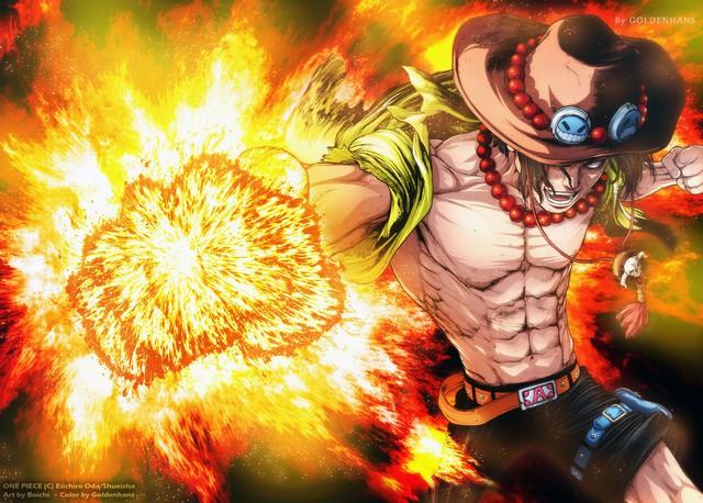 One Piece: Hé lộ thiết kế mới của bộ 3 quái vật Jinbe, Shanks và Rayleigh trong Ace Novel, nhìn ngầu bá cháy! - Ảnh 3.