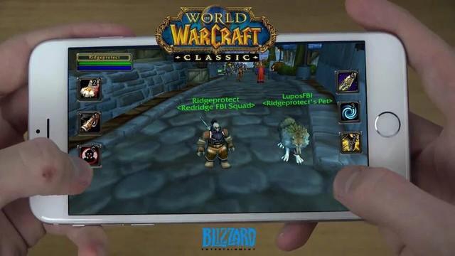 Đã có World of Warcraft Mobile chính chủ, thế hệ game thủ 8x và 9x sắp được quay lại tuổi thơ - Ảnh 3.
