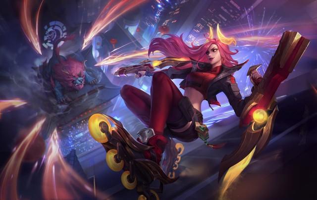 Nữ thần Minh Nghi lột xác với màn cosplay Tốc Chiến siêu chất, thần thái cực đỉnh khiến fan điêu đứng - Ảnh 2.