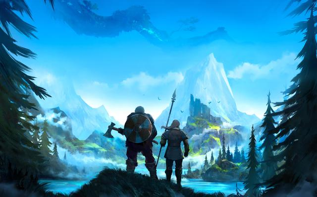 Appeared the co-op survival game Valheim, allowing gamers to play the role of Viking warriors - Photo 2.