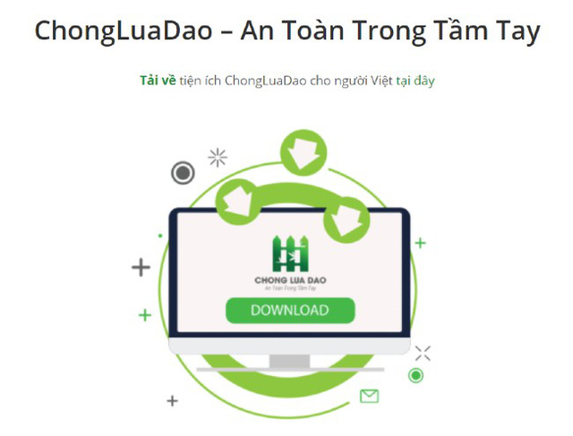 What is special about hacker hieupc's chongluadao.vn platform?  - Photo 2.