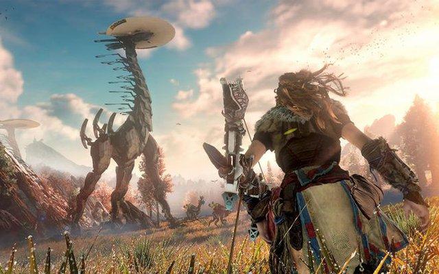 """Xuất hiện game thủ PC thích """"cảm giác lạ"""", chiến bom tấn Horizon Zero Dawn ở độ phân giải… 72p - Ảnh 1."""
