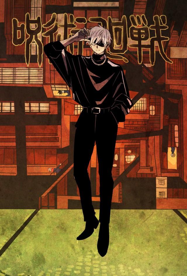 Các nguyền sư trong Jujutsu Kaisen lên đồ đón tết cực bảnh, fan học lỏm ngay còn đẹp trai du xuân - Ảnh 2.