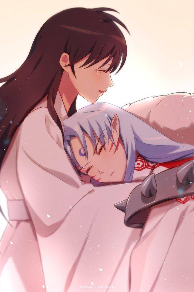 Buổi chiều cuối cùng của năm, nhìn cặp đôi Sesshomaru vs Rin tình bể bình mà không khỏi có chút gato - Ảnh 7.
