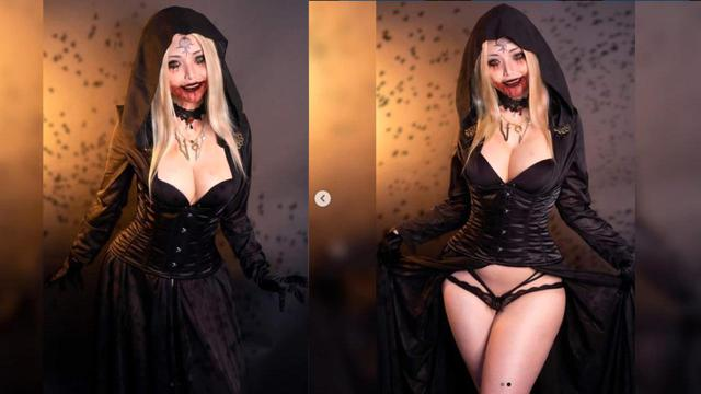Catch your eye with the photo set of cosplayer of Vietnamese origin incarnating female vampire in Resident Evil 8 - Photo 1.