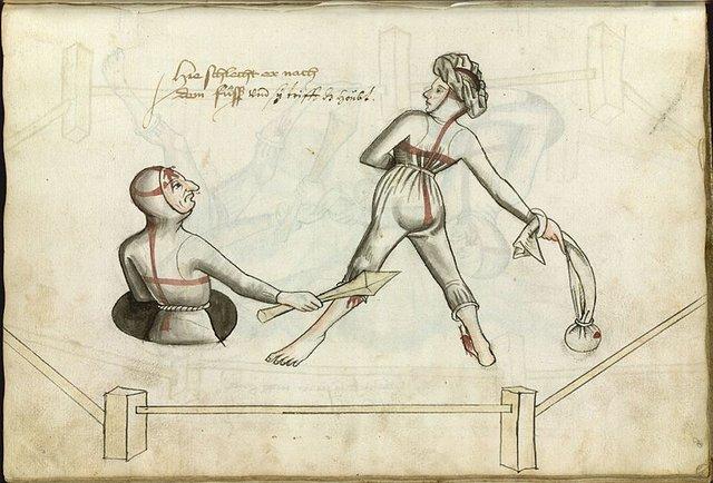 Cách giải quyết mâu thuẫn gia đình thời Trung Cổ: Vợ chồng quyết đấu tay đôi, ai thắng là đúng! - Ảnh 1.