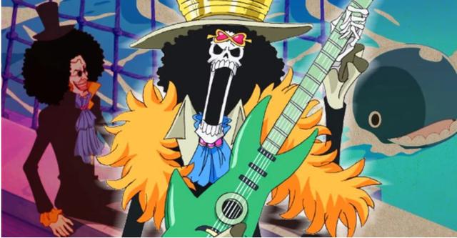 One Piece: Brock – Chàng nhạc sĩ xương vui tính thích xem quần lót phụ nữ cũng có 1 quá khứ đau lòng - Ảnh 1.