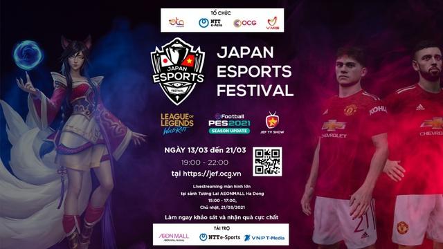 Sự kiện E-Sports Nhật Bản lần đầu được tổ chức online cho khán giả Việt Nam – Nhật Bản - Ảnh 1.