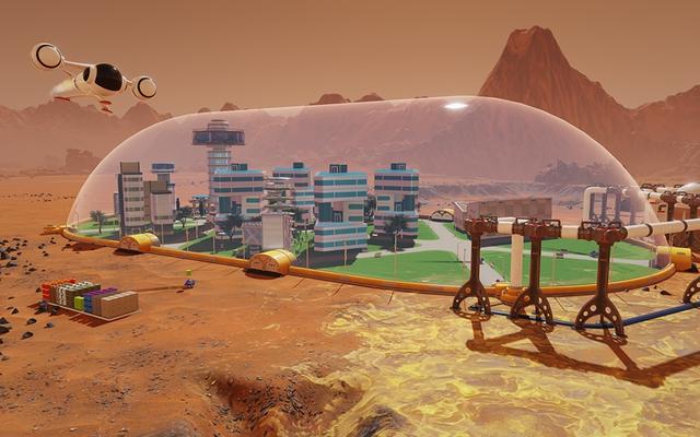 Chinh phục Sao Hỏa với game miễn phí Surviving Mars - Ảnh 1.