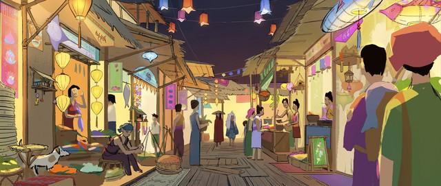 Việt Nam và Đông Nam Á trở thành nguồn cảm hứng cho bom tấn mới của Disney - Ảnh 3.