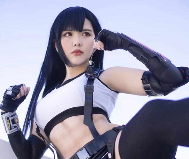 Sức sống trong tạo hình sexy của nhân vật Tifa của thương hiệu Final Fantasy Base64-16154320210351611240557