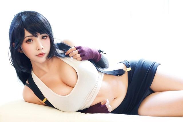 Sức sống trong tạo hình sexy của nhân vật Tifa của thương hiệu Final Fantasy Photo-1-16154318868141896208186