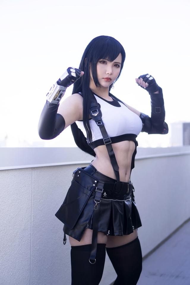 Sức sống trong tạo hình sexy của nhân vật Tifa của thương hiệu Final Fantasy Photo-1-1615431919153123127381