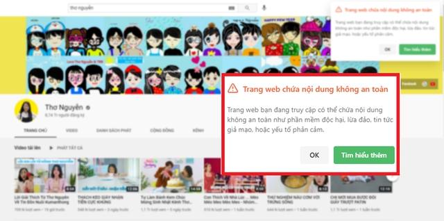 """Truy cập vào kênh của Thơ Nguyễn, phụ huynh """"ngã ngửa"""" với thông báo sốc của YouTube - Ảnh 2."""