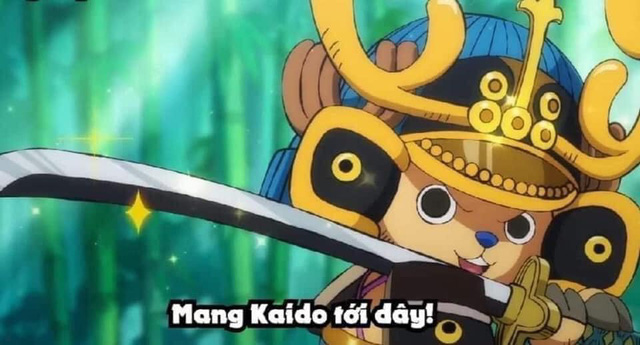 One Piece: Không phải Luffy hay Zoro, chủ tịch Chopper mới là thành viên tỏa sáng nhất của băng Mũ Rơm ở Wano - Ảnh 2.