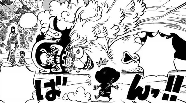 One Piece: Không phải Luffy hay Zoro, chủ tịch Chopper mới là thành viên tỏa sáng nhất của băng Mũ Rơm ở Wano - Ảnh 3.