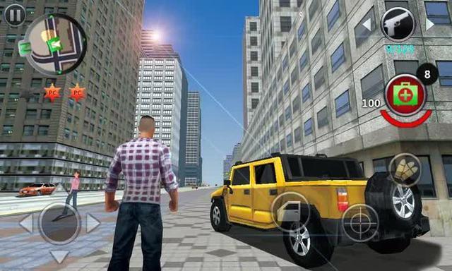 """Top Game Mobile Offline hay nhất bắt chước y xì GTA 5 nhưng lại nhẹ đến """"giật mình"""", máy nào cũng chơi được - Ảnh 4."""