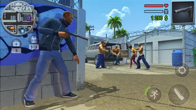 """Top Game Mobile Offline hay nhất bắt chước y xì GTA 5 nhưng lại nhẹ đến """"giật mình"""", máy nào cũng chơi được - Ảnh 6."""