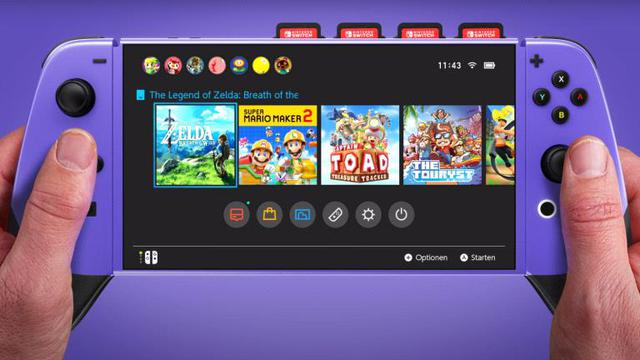 Nintendo Switch Pro mới sẽ ra mắt vào cuối năm nay, có thể chơi game 4K - Ảnh 1.