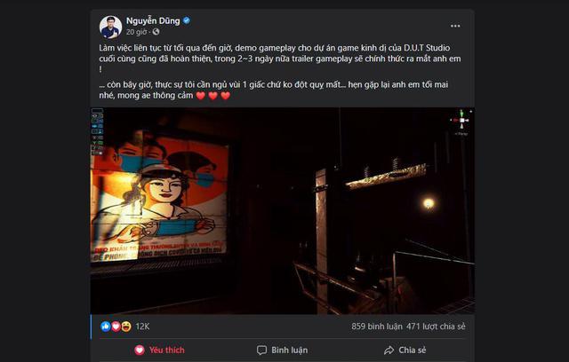 Tựa game do Dũng CT và Team Đụt phát triển sắp hoàn thành, ra mắt trailer chính thức trong 2 ngày tới - Ảnh 2.