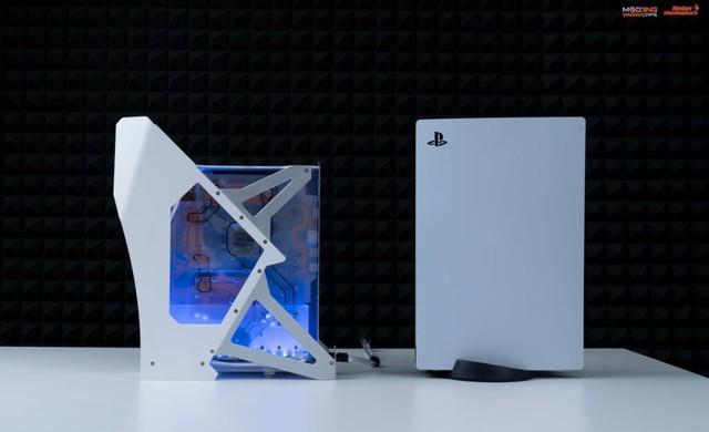 PS5 độ tản nhiệt nước của modder Việt được cộng đồng game thế giới khen ngợi - Ảnh 1.
