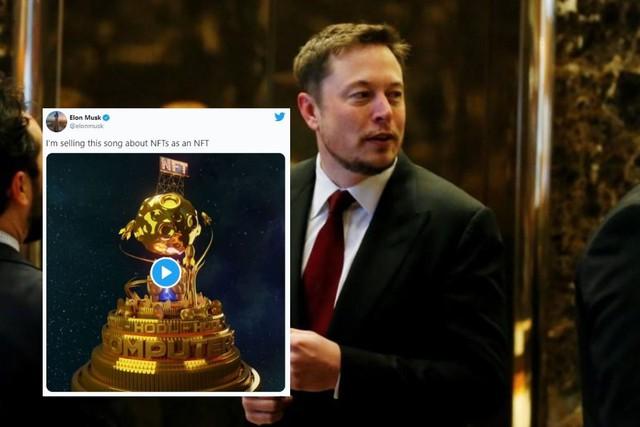 Elon Musk giới thiệu NFT đầu tiên, hứa hẹn phá kỷ lục hơn 70 triệu USD - Ảnh 2.