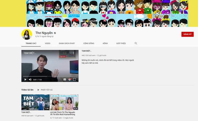 Kênh YouTube Thơ Nguyễn chính thức tắt chế độ kiếm tiền, nói lời chào tạm biệt sau 5 năm hoạt động - Ảnh 4.