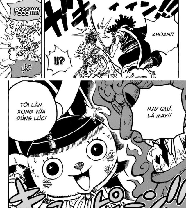 One Piece tiết lộ phương pháp Chopper dùng để chống lại dịch bệnh Băng Quỷ của Queen - Ảnh 1.