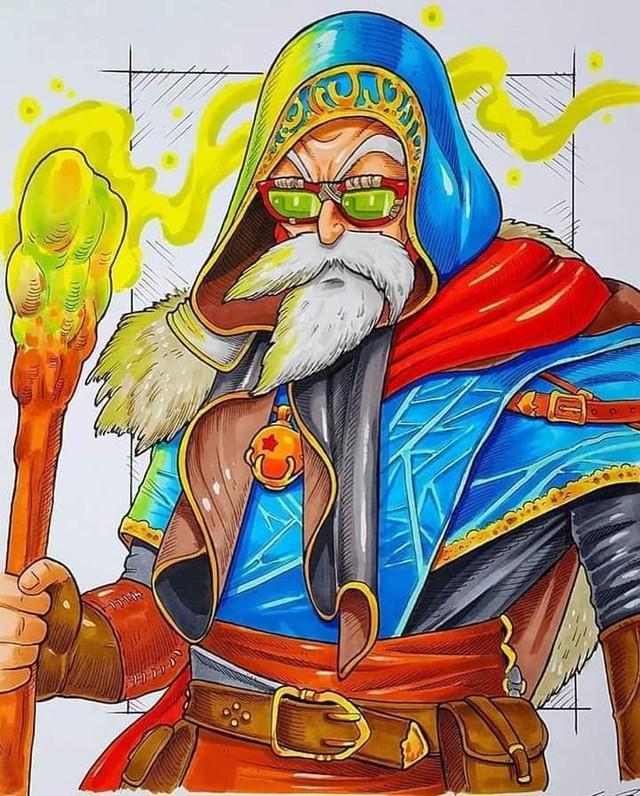Dàn nhân vật chính Dragon Ball bất ngờ hóa hiệp sĩ Trung Cổ ngầu đét ai nhìn cũng mê - Ảnh 6.