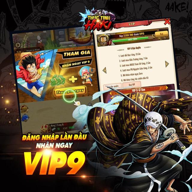Tặng Luffy Gear 2 UR, Thức Tỉnh Haki tri ân game thủ bằng server siêu đặc biệt - Ảnh 3.