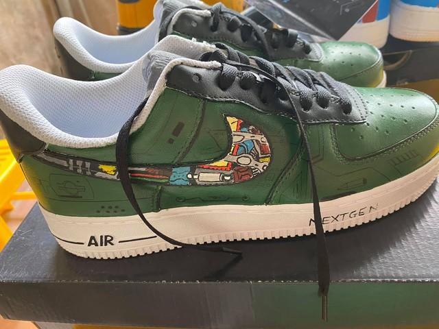 Dũng CT và Team Đụt được fan tặng giày xịn, custom đẹp không tì vết - Ảnh 3.