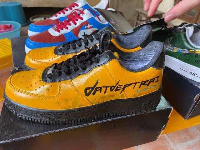 Dũng CT và Team Đụt được fan tặng giày xịn, custom đẹp không tì vết - Ảnh 4.