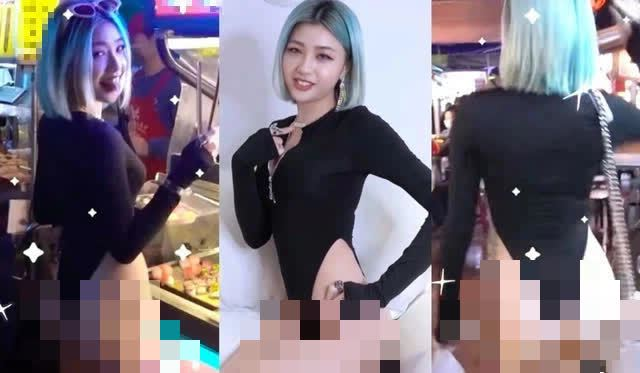 Mặc như không mặc rồi thực hiện nhiều hành động phản cảm ở chợ đêm, nữ YouTuber nhận mưa gạch đá từ CĐM - Ảnh 3.