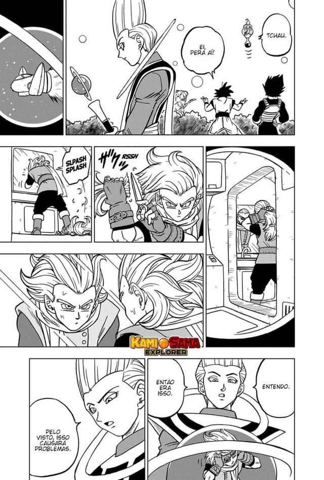 Dragon Ball Super chap 70: Granola trở thành chiến binh mạnh nhất vũ trụ và bắt đầu kế hoạch trả thù - Ảnh 4.